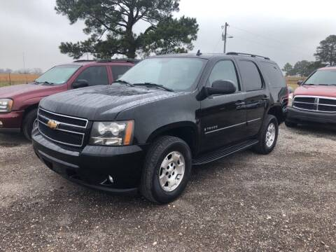 2007 Chevrolet Tahoe for sale at COUNTRY AUTO SALES in Hempstead TX