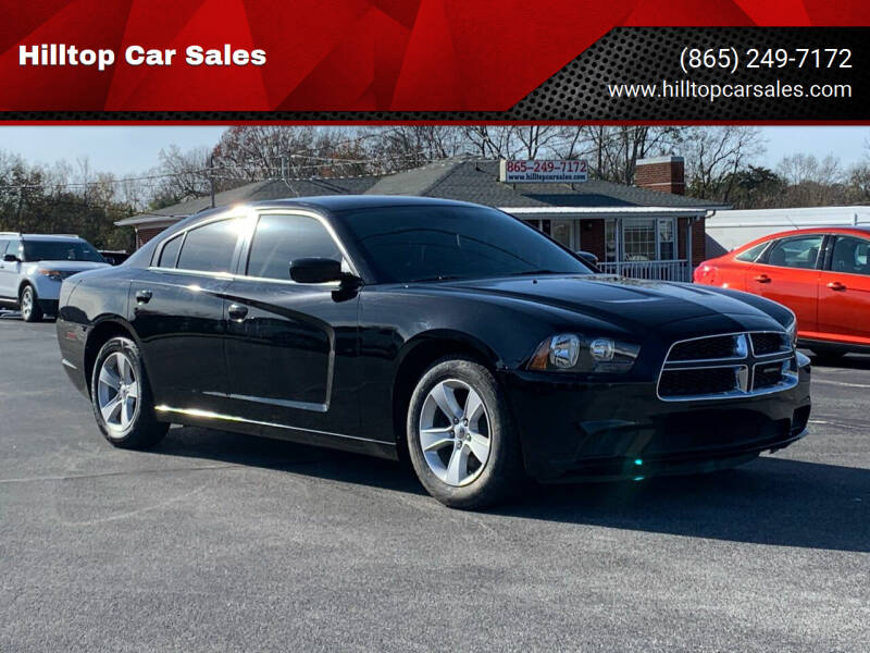 2014 Dodge Charger for sale at Hilltop Car Sales in Knox TN
