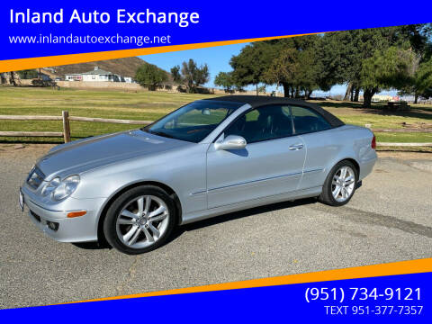 2008 Mercedes-Benz CLK for sale at Inland Auto Exchange in Norco CA