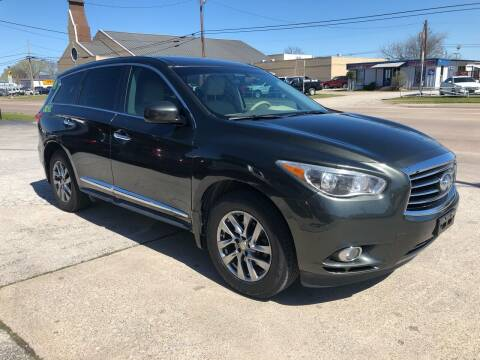2013 Infiniti JX35 for sale at Z AUTO MART in Lewisville TX