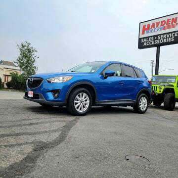 2013 Mazda CX-5 for sale at Hayden Cars in Coeur D Alene ID