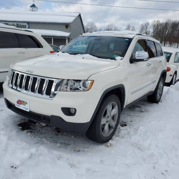 2011 Jeep Grand Cherokee for sale at ALL WHEELS DRIVEN in Wellsboro PA