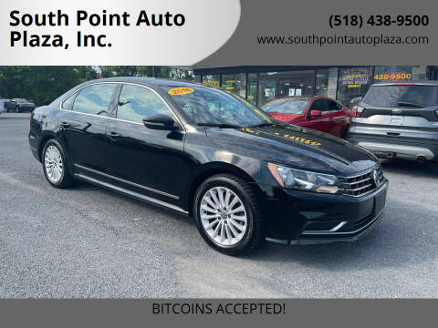 2016 Volkswagen Passat for sale at South Point Auto Plaza, Inc. in Albany NY