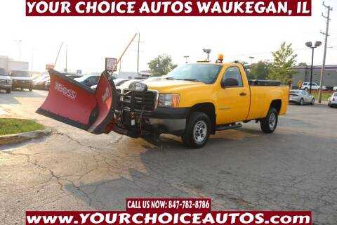 2009 GMC Sierra 2500HD for sale at Your Choice Autos - Waukegan in Waukegan IL