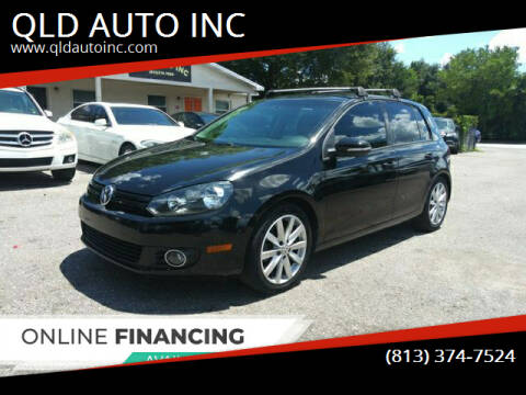2011 Volkswagen Golf for sale at QLD AUTO INC in Tampa FL