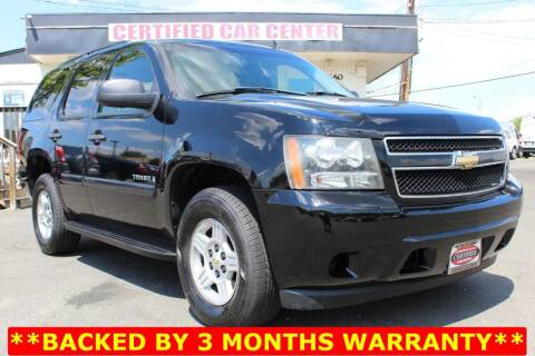 2007 Chevrolet Tahoe for sale at CERTIFIED CAR CENTER in Fairfax VA