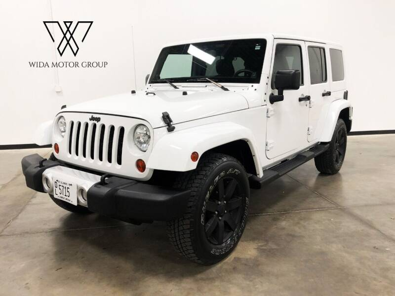 2013 Jeep Wrangler Unlimited for sale at Wida Motor Group in Bolingbrook IL