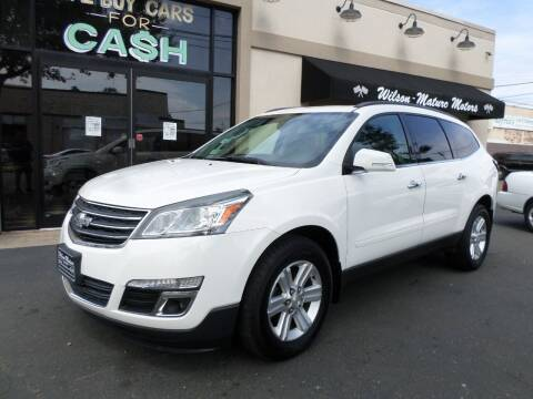 2013 Chevrolet Traverse for sale at Wilson-Maturo Motors in New Haven Ct CT