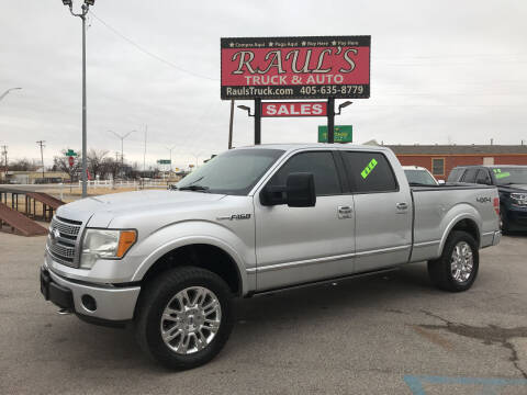 2010 Ford F-150 for sale at RAUL'S TRUCK & AUTO SALES, INC in Oklahoma City OK