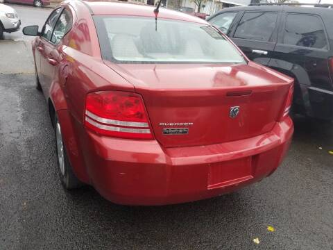 2008 Dodge Avenger for sale at Perez Auto Group LLC -Little Motors in Albany NY