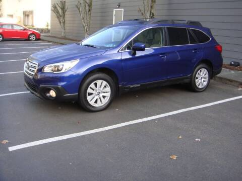 2016 Subaru Outback for sale at Western Auto Brokers in Lynnwood WA