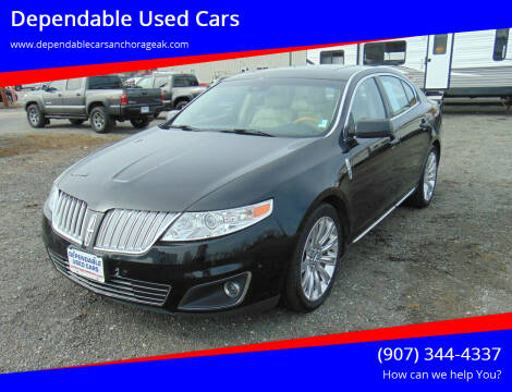 2011 Lincoln MKS for sale at Dependable Used Cars in Anchorage AK
