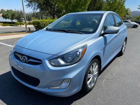 2013 Hyundai Accent for sale at PRESTIGE AUTO SALES GROUP INC in Stevenson Ranch CA
