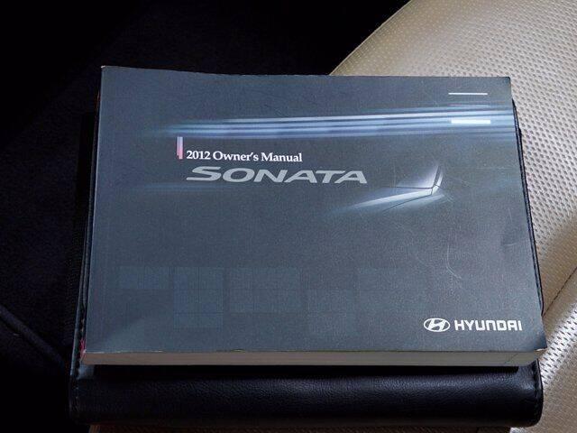 2012 Hyundai Sonata 2.4L Limited PZEV - Essington PA