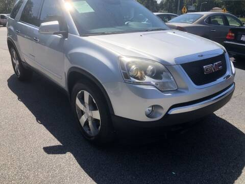 2011 GMC Acadia for sale at Auto Cars in Murrells Inlet SC