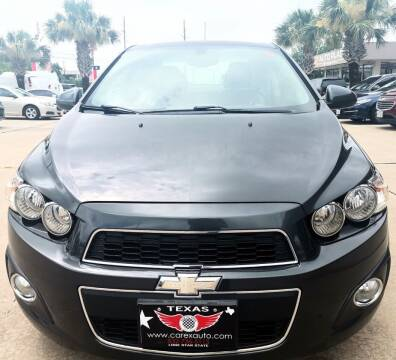 2016 Chevrolet Sonic for sale at Car Ex Auto Sales in Houston TX