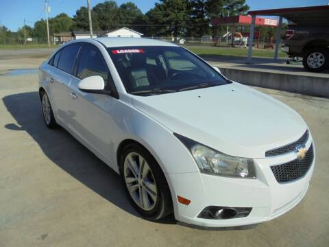 2012 Chevrolet Cruze for sale at US PAWN AND LOAN in Austin AR
