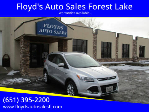 2014 Ford Escape for sale at Floyd's Auto Sales Forest Lake in Forest Lake MN
