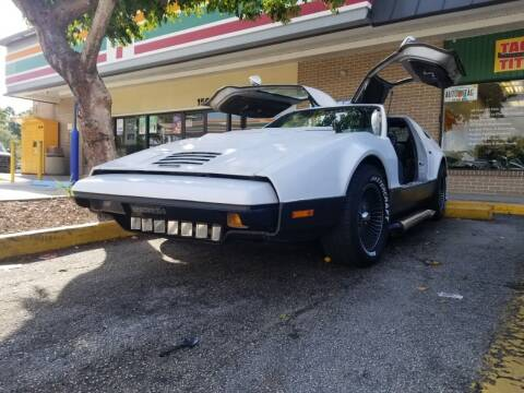 1975 Bricklin SV1 for sale at M.D.V. INTERNATIONAL AUTO CORP in Fort Lauderdale FL