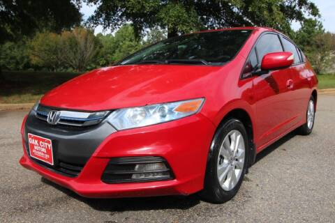 2014 Honda Insight for sale at Oak City Motors in Garner NC
