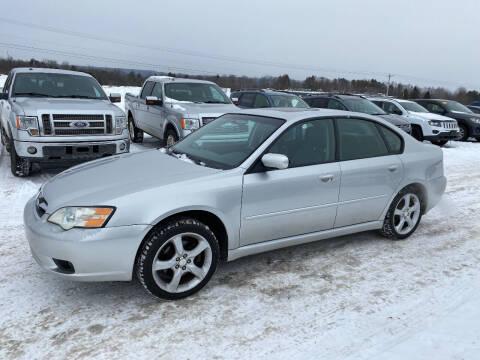 2007 Subaru Legacy for sale at Riverside Motors in Glenfield NY