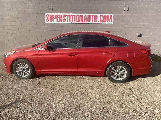 2017 Hyundai Sonata for sale at Superstition Auto in Mesa AZ