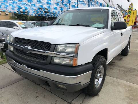 2003 Chevrolet Silverado 1500 for sale at Plaza Auto Sales in Los Angeles CA