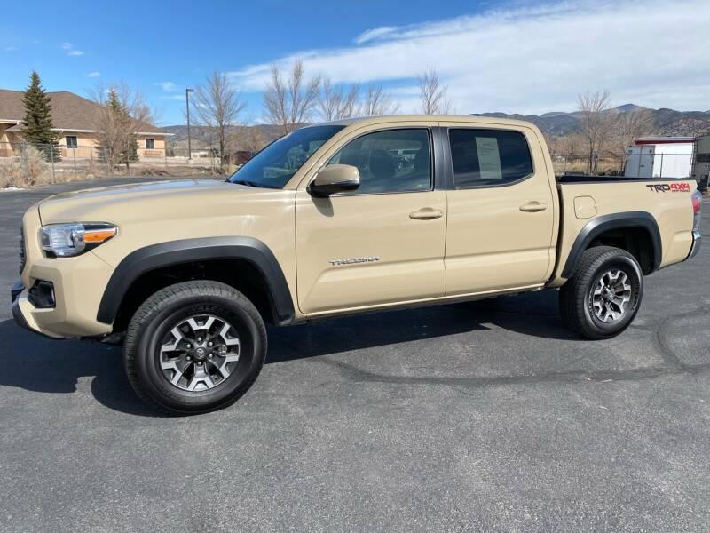 2020 Toyota Tacoma for sale at Salida Auto Sales in Salida CO