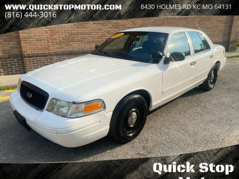 2008 Ford Crown Victoria for sale at Quick Stop Motors in Kansas City MO