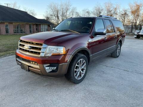 2015 Ford Expedition EL for sale at RODRIGUEZ MOTORS CO. in Houston TX