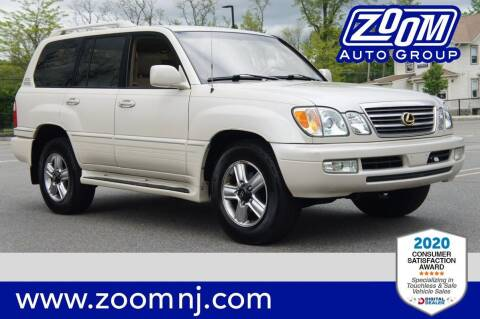 2003 Lexus LX 470 for sale at Zoom Auto Group in Parsippany NJ