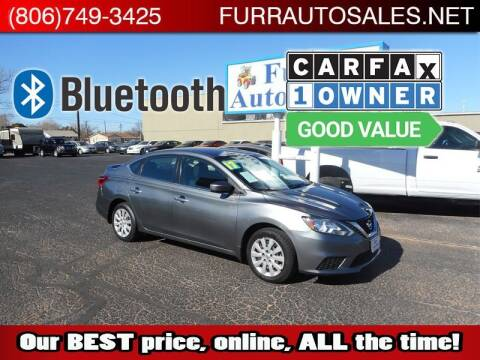 2017 Nissan Sentra for sale at FURR AUTO SALES in Lubbock TX
