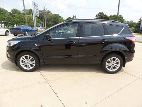 2018 Ford Escape for sale at WAYNE HALL CHRYSLER JEEP DODGE in Anamosa IA