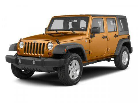 2013 Jeep Wrangler Unlimited for sale at BEAMAN TOYOTA in Nashville TN