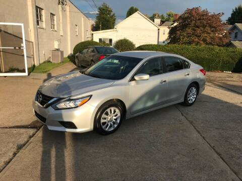 2016 Nissan Altima for sale at DALE'S PREOWNED AUTO SALES INC in Moundsville WV