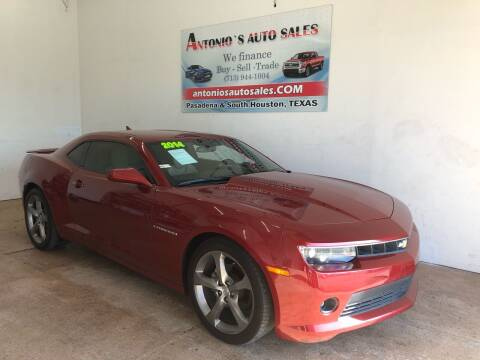 2014 Chevrolet Camaro for sale at Antonio's Auto Sales in South Houston TX