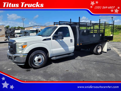 2011 Ford F-350 Super Duty for sale at Titus Trucks in Titusville FL