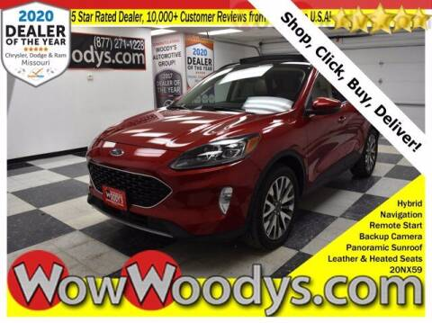2020 Ford Escape Hybrid for sale at WOODY'S AUTOMOTIVE GROUP in Chillicothe MO