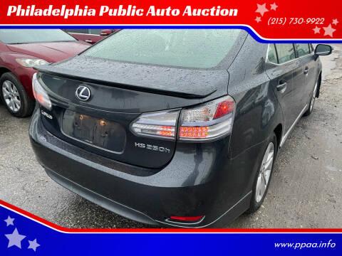 2010 Lexus HS 250h for sale at Philadelphia Public Auto Auction in Philadelphia PA