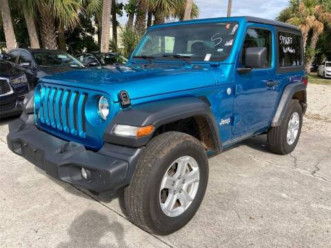 2020 Jeep Wrangler for sale at Florida Fine Cars - West Palm Beach in West Palm Beach FL