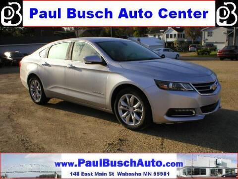 2020 Chevrolet Impala for sale at Paul Busch Auto Center Inc in Wabasha MN
