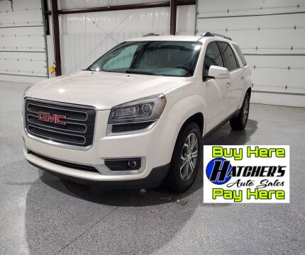 2014 GMC Acadia for sale at Hatcher's Auto Sales, LLC - Buy Here Pay Here in Campbellsville KY