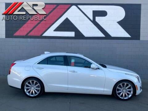 2016 Cadillac ATS for sale at Auto Republic Fullerton in Fullerton CA