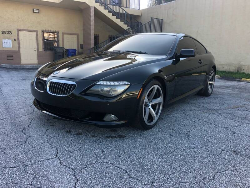2009 BMW 6 Series for sale at Florida Cool Cars in Fort Lauderdale FL