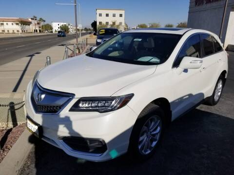 2016 Acura RDX for sale at Vin - Mar Auto in Victorville CA