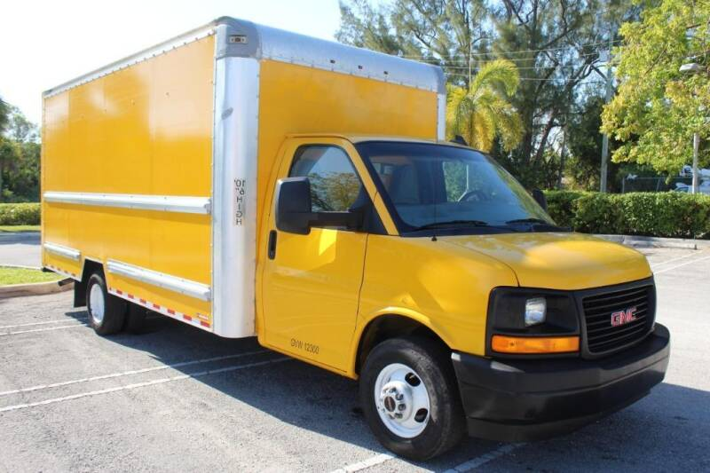 2017 GMC Savana Cutaway for sale at Truck and Van Outlet in Miami FL