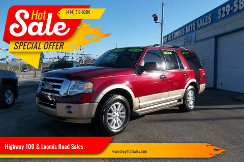 2014 Ford Expedition for sale at Highway 100 & Loomis Road Sales in Franklin WI