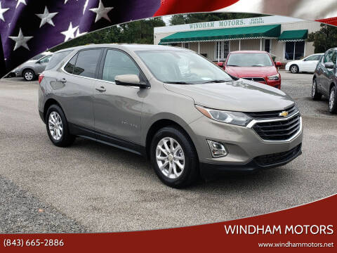 2018 Chevrolet Equinox for sale at Windham Motors in Florence SC