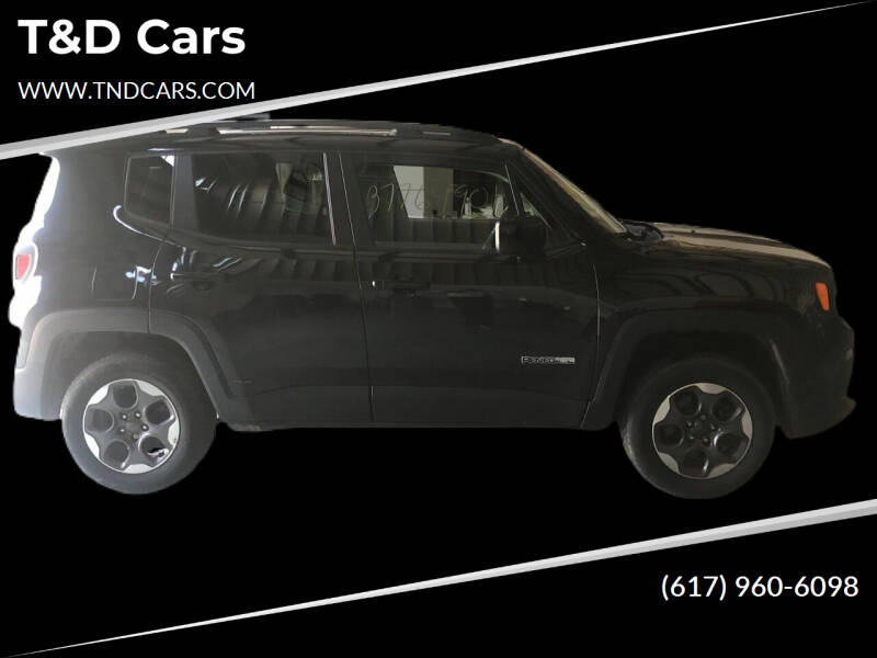 2016 Jeep Renegade for sale at T&D Cars in Holbrook MA