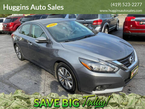 2016 Nissan Altima for sale at Huggins Auto Sales in Ottawa OH